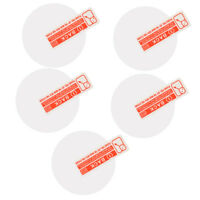 5 Pieces Tempered Glass Screen Protector Film For 35mm Diameter Watch