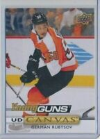 2019-20 Upper Deck Series 2 Canvas Young Guns C221 German Rubtsov Flyers