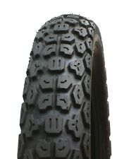 """MOTORCYCLE TRIAL TYRE 400-18"""" E MARKED BLOCK TYPE TREAD"""