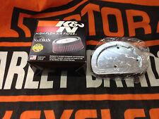 Harley HD-1614 Air Filters Luftfilter K&N