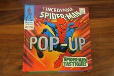 L'INCROYABLE SPIDER-MAN    livre POP UP  -- MARVEL
