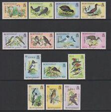 Montserrat - 1985,5c - $10 Oiseaux Officiels Complet Ensemble - MNH - Sg O62/75