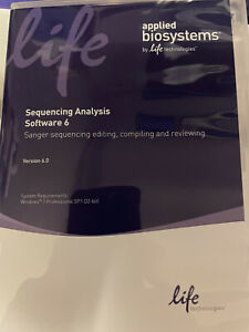 Applied Biosystems Sequencing Analysis Software 6.0