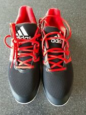 Adidas Stabil4ever mens Indoor Trainers Red/Black Size 10 new