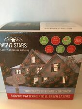 Laser - Night Stars Laser Landscape Lighting covers up to 2500 sq. feet new