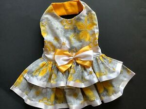 Summer Doggie Dress Handmade Size  medium