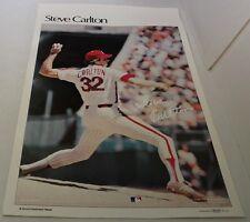 Steve Carlton 1978 Sports Illustrated Poster Philadelphia Phillies