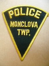 Patches: MONCLOVA TWP TOWNSHIP US POLICE PATCH (NEW* 11.5x10 cm)