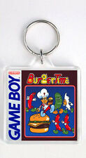 BURGER TIME NINTENDO GAME BOY KEYRING LLAVERO
