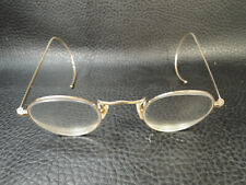 Antique Doctors Gilded Physician Wire  Eyeglasses