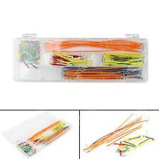Wire Kit Solderless Breadboard U Shape Jumper Cable 140Pcs For Arduino Shield