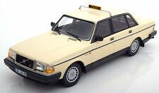 MINICHAMPS 1986 Volvo 240 GL Taxi Classic Creme Color LE of 300pcs 1:18*New!