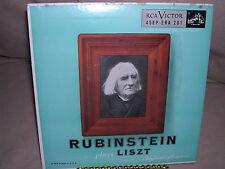 Rubinstein Plays Liszt - Keyboard Miniatures 45EP - ERA 201 RCA Victor
