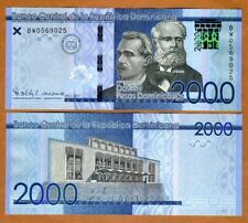 Dominican Republic, 2000 Pesos Dominicanos, 2017 (2019) P-New UNC > New Security