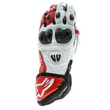 ALPINESTARS GP PRO R2 GLOVES BLACK/WHITE & RED SIZE X-LARGE