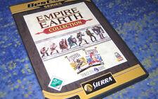 Empire Earth - Collection (PC) Platin Edition beide Teile Deutsch Klassiker neuw