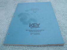 Key UHF 420-470MHz Model KME-450 Technical manual.