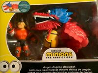 Minions Dragon Disguise Dragon Story Pack Action Figure Two-Pack Kids Ages 4 +