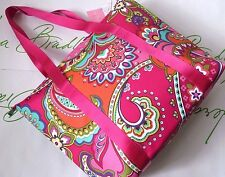 NWT Vera Bradley Padded Insulated Lighten Up Cooler Tote Pink Swirls