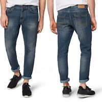 TOM TAILOR Herren Marvin Straight Jeans Denim High Stretch Five Pocket Hose