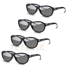 4pcs AG-F310 3D Occhiali Polarizzati Passivi Per LG TCL Samsung SONY Konka