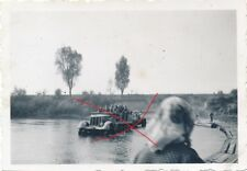 Nr.12517 Foto 2. Weltkrieg Deutsche Soldaten Protze  Sd.Kfz. Flak