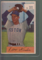1954 BOWMAN #98 ELLIS KINDER BOSTON RED SOX BK$12.00