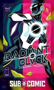 RADIANT BLACK #1 COVER A CHO (IMAGE 2021 1st Print) COMIC