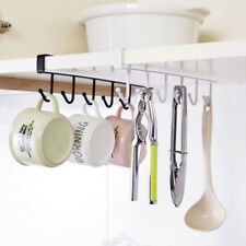 6 Crochets Porte Tasse Cintre cuisine salle de bains sous étagère