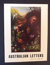 Australian Letters Vol 3 No 1 July 1960