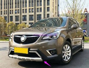 Front Rear Bumper Board Guard Protector Fit for Buick Envision 2018-2019