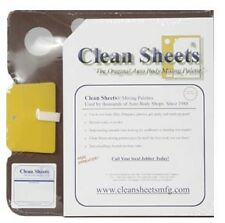 Clean Sheets 12 X 12 Disposable Paper Mixing Board part #:CLN-CS100  NEW