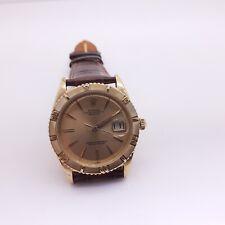 Vintage Rolex Datejust Thunderbird 36 mm 18K Yellow Gold Watch 1625 Circa 1959