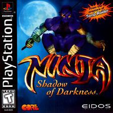 Ninja: Shadow of Darkness (PlayStation PS1) Defeat dragons, demons & More!