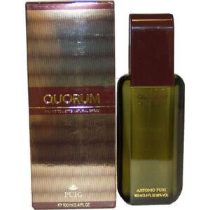 Quorum By Antonio Puig Men 3.4 oz 100 ml Eau De Toilette Spray Nib
