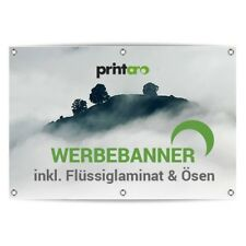 Werbeplane Werbebanner LKW Plane  22€//m²  />/>100x130cm/</<