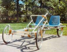 Rickshaw Pedicab Build Your Own 4 Wheel Bike Plans DIY Pedal Car Quad Cycle CD