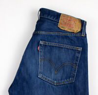LEVI'S STRAUSS & CO Men 501 Straight Leg Jeans Size W36 L30 AKZ575