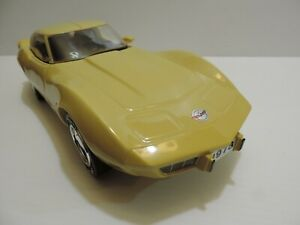 "1978 CORVETTE VINTAGE LIMITED ED BEAM 1/12 SCALE CAST PORCELAIN 15"" MODEL CAR"