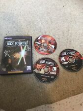 STAR WARS JEDI KNIGHT DARK FORCES II & MYSTERIES OF THE SITH -PC GAME 3 Disc Set