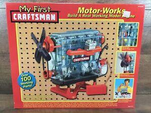 My First Craftsman Motor Works Working Model Engine Kit  Sealed Box