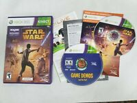 Used ~ Kinect Star Wars & Game Demo (Xbox 360, 2012) Kinect Required Complete
