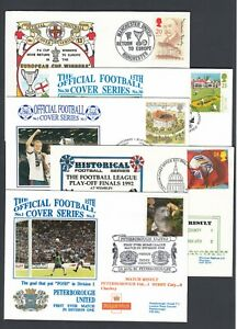 FIVE Random GB Football Club Covers Various Matches & Clubs 1990s
