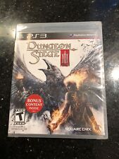 Dungeon Siege III (Sony PlayStation 3, 2011) BRAND NEW SEALED