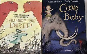 Cave Baby & Tyrannosaurus Drip By Julia Donaldson NEW Paperback Childrens Books