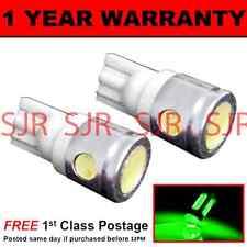 W5W T10 501 XENON GREEN 3 LED SMD INTERIOR COURTESY LIGHT BULBS X2 HID IL101101