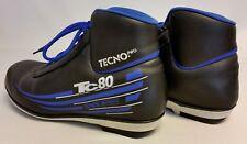 Langlaufschuhe Tecno Pro TC 80 SNS Profil, Farbe schwarz-blau, Gr. 44