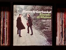 🔥 Simon & Garfunkel ♫ Sounds of Silence ♫ EX Columbia Records Vinyl LP 🔥