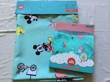 Disney Eats Snacks Ice Cream Table Cloth and Apron New Tablecloth