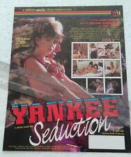 Kristara Barrington in Yankee Seduction Promo Ad Slick Poster